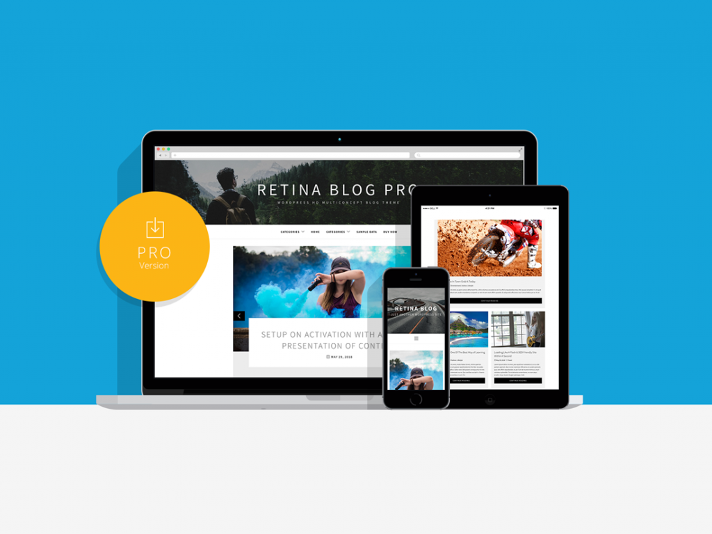 Retina Blog Pro